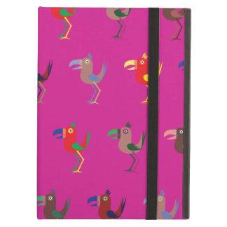 Tucan Mix bright iPad Air Covers