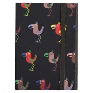 Tucan Mix deep purple Cover For iPad Air