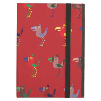 Tucan Mix Red iPad Air Case