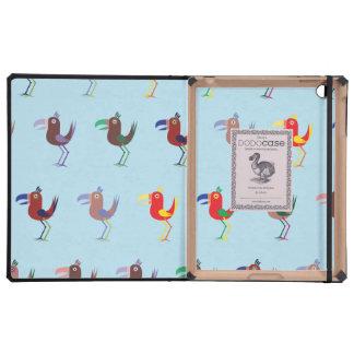 Tucan MixBlue iPad Folio Cases