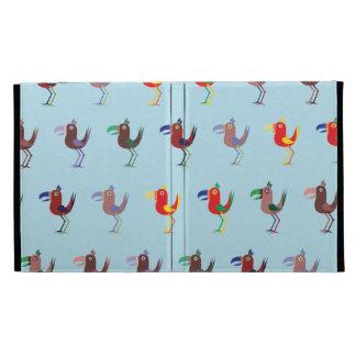 Tucan MixBlue iPad Folio Covers