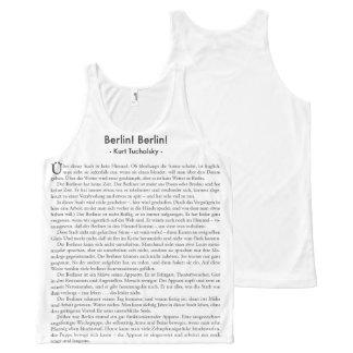 Tucholsky T-Shirt Berlin! Berlin! All-Over Print Tank Top