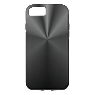 Tuck and Roll: Brushed Metal iPhone 7 Case