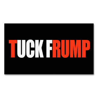 TUCK FRUMP - - .png Magnetic Business Card
