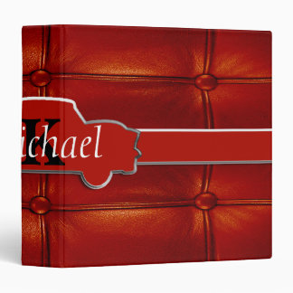 Tuck N Roll Muscle Car Monogram Binder