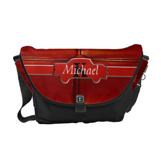 Tuck N Roll Muscle Car Monogram Courier Bag