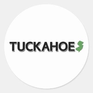 Tuckahoe, New Jersey Classic Round Sticker