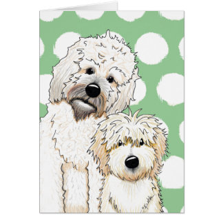 Tucker and Scout PetCature Portrait Card