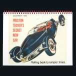 "Tucker Car Calendar<br><div class=""desc"">Vintage serenity.</div>"