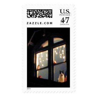 Tucker, Christmas Eve 2003 Postage