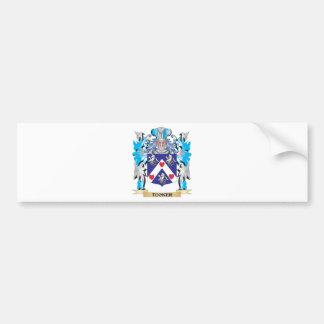 Tucker Coat of Arms - Family Crest Car Bumper Sticker