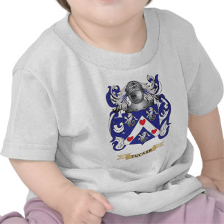 Tucker Family Crest (Coat of Arms) T Shirts