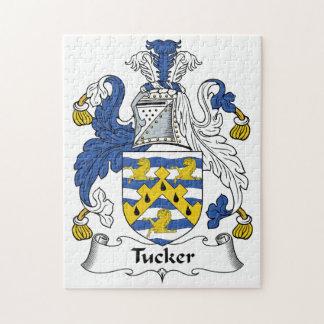 Tucker Family Crest Puzzle