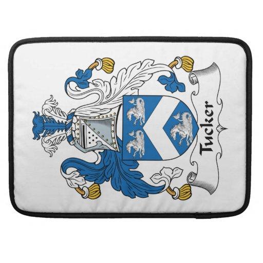 Tucker Family Crest Sleeves For MacBooks