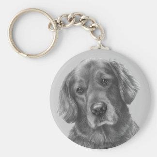 Tucker, Golden Retriever Keychain
