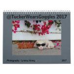 Tucker Wears Goggles 2017 Calendar