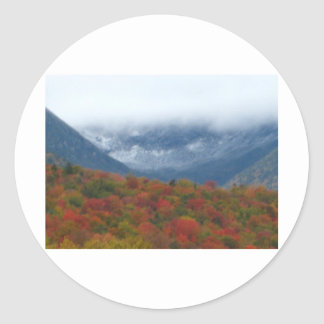 Tuckerman's Ravine Classic Round Sticker