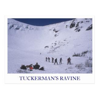 Tuckerman's Ravine Mount Washington Postcard