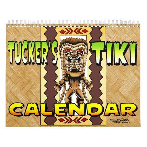Tucker's Tiki Calendar