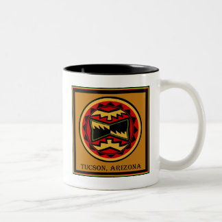 Tucson Arizona 2014 Two-Tone Coffee Mug