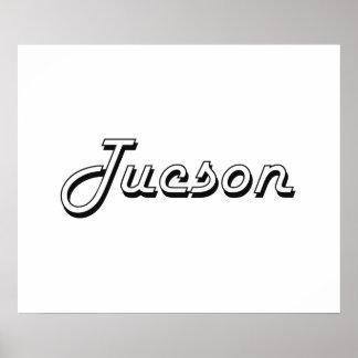 Tucson Arizona Classic Retro Design Poster