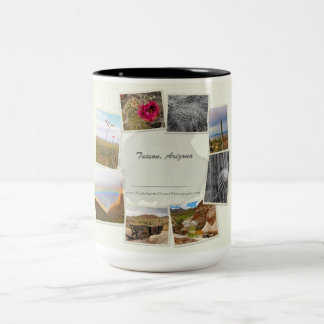 Tucson, Arizona Collage mug