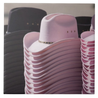 Tucson, Arizona. Cowboy hats for men and women Tile