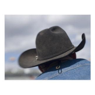 Tucson, Arizona. Cowboy hats in use at the Postcard