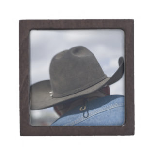 Tucson, Arizona. Cowboy hats in use at the Premium Jewelry Boxes