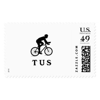 Tucson Arizona Cycling Acronym TUS Postage