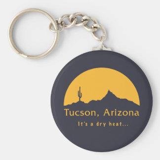 Tucson, Arizona - es un calor seco… Llavero Redondo Tipo Pin