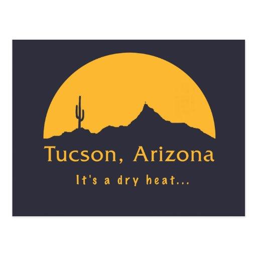 Tucson, Arizona - es un calor seco… Postal