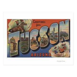 Tucson, Arizona - escenas grandes 2 de la letra Tarjeta Postal