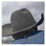 Tucson, Arizona. Gorras de vaquero funcionando en Azulejo
