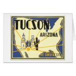Tucson, Arizona la ciudad de la sol Tarjeta De Felicitación