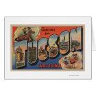 Tucson, Arizona - Large Letter Scenes Card