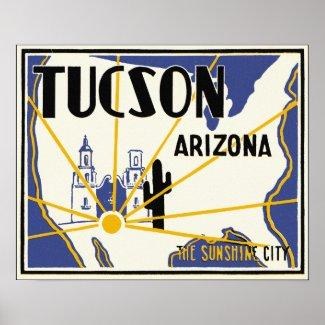 Tucson, Arizona print