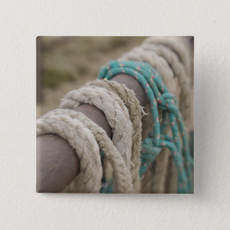 Tucson, Arizona: Ropes and hanrnesses used  on Pinback Button