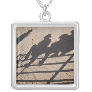 Tucson, Arizona: Shadows of Rodeo competitors Personalized Necklace