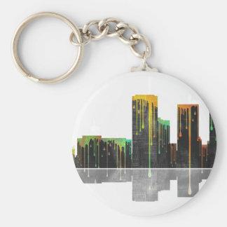 Tucson Arizona Skyline Keychain