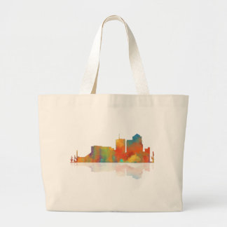 Tucson Arizona Skyline Large Tote Bag