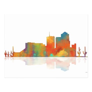 Tucson Arizona Skyline Postcard