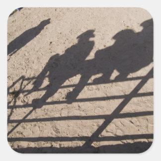 Tucson, Arizona: Sombras de los competidores del Calcomanía Cuadrada