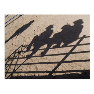 Tucson, Arizona: Sombras de los competidores del r Postales