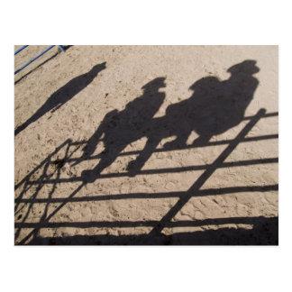Tucson, Arizona: Sombras de los competidores del Tarjetas Postales