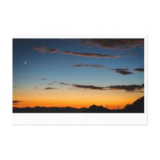 Tucson, Arizona Sunset Canvas Print