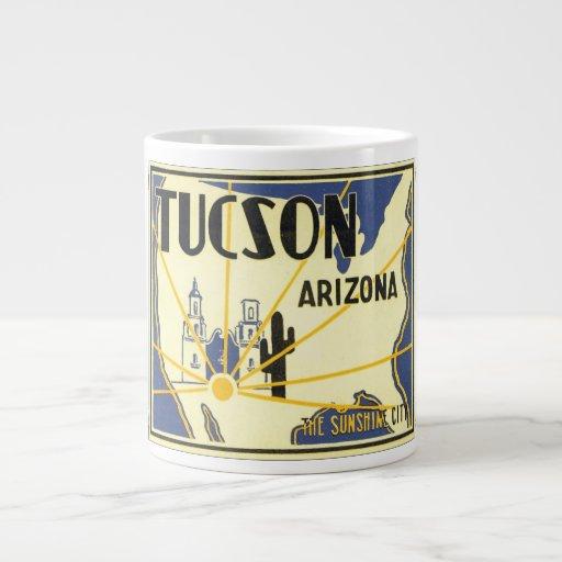 Tucson, Arizona The Sunshine City Extra Large Mug