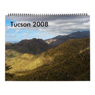Tucson, AZ 2008 Calendario De Pared