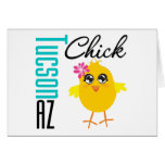 Tucson AZ Chick Card