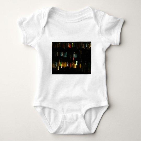 Tucson, AZ City Lights Abstract Photo Baby Bodysuit